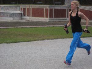 Joggen und Yoga
