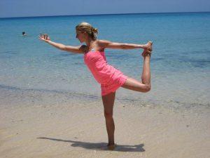 yoga und Laufen