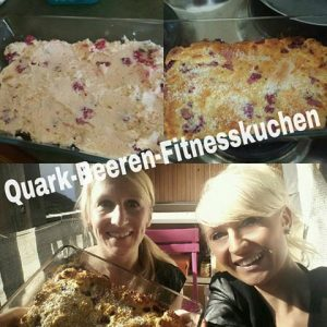 Quark Beern Fitnesskuchen
