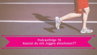 abnehmen mit joggen