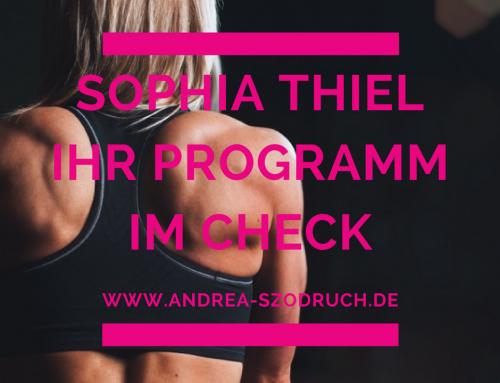 Abnehmen mit Sophia Thiel – Wie ist ihr Onlineprogramm