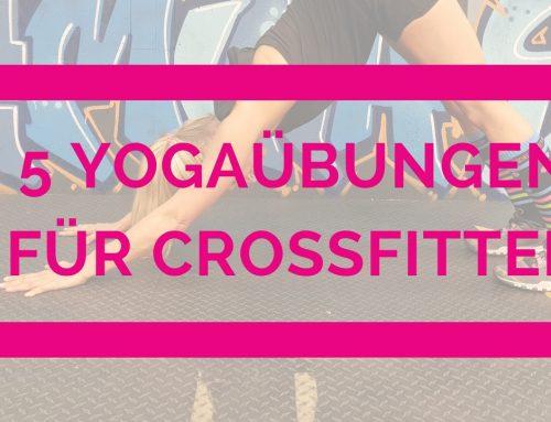 5 Yogaübungen für Crossfitter