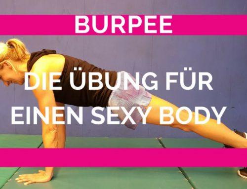 Der Burpee eine Übung für den ganzen Körper
