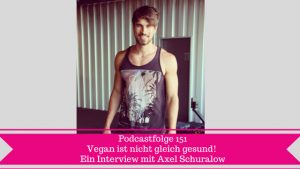 Interview mit veganer Axel Schuralow
