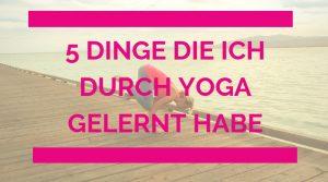 yoga learnings