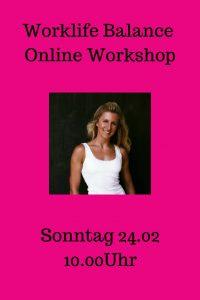 worklife balance workshop