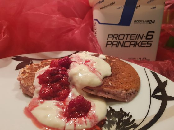 Protein Pancakes mit Bodylab24 Pancake-Mischung