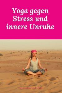 yoga und stress