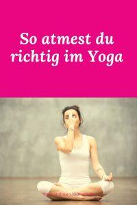 atmung beim yoga