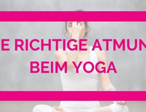 Die richtige Atmung beim Yoga