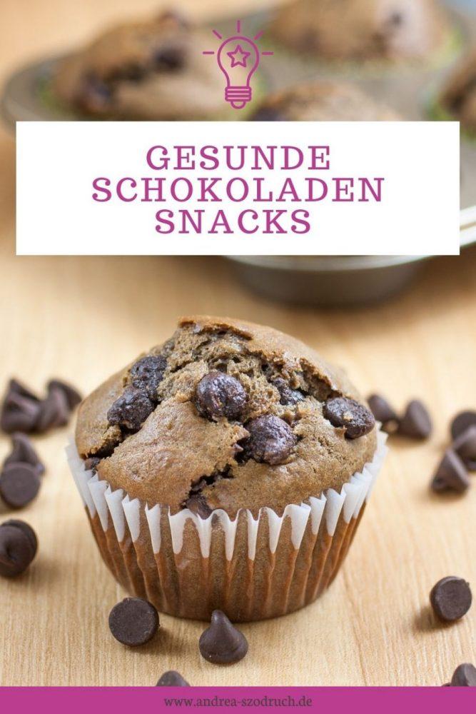 gesunde schokoladen snacks