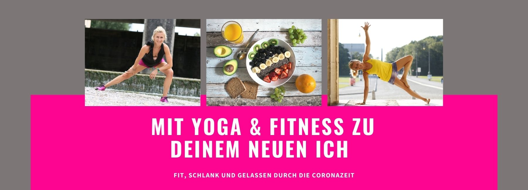 mit yoga & fitness durch coronazeit