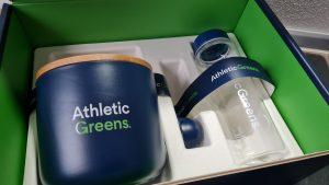 athletic greens im check